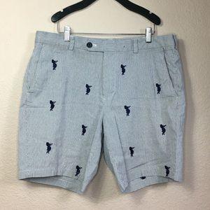 Brooks Brothers Stripe Bermuda Short